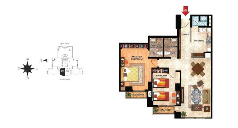 orchid 2bedroom d1